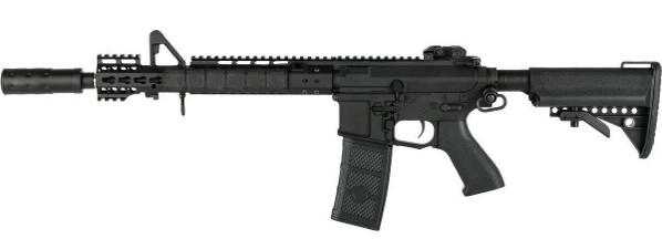 GandP Skull Frog Keymod M4 Carbine AEG Airsoft Rifle w/ i5 Gearbox, Black