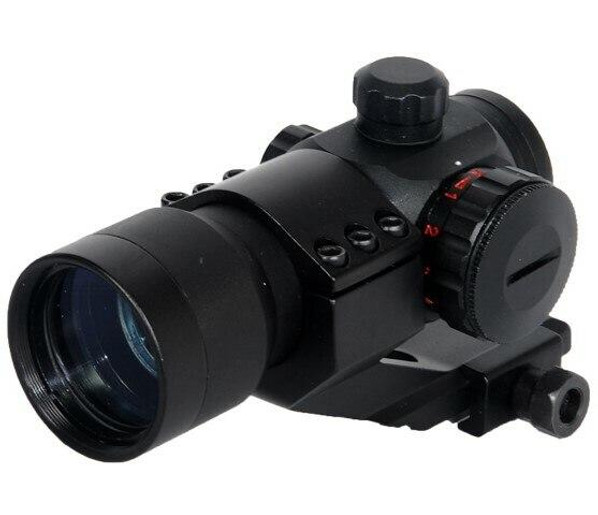 Lancer Tactical Red and Green Dot Scope w/ Cantilever Mount