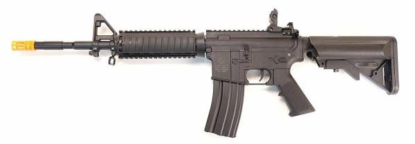 Colt M4 RIS Flat Top Sportline AEG Airsoft Rifle, Black