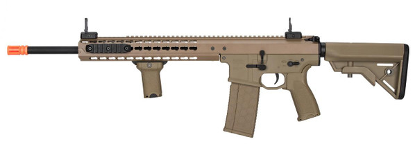 Lancer Tactical Warlord 18 Type B DMR Airsoft Rifle, Tan