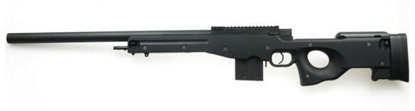 Tokyo Marui L96 AWS Bolt Action Airsoft Sniper Rifle /w Bull Barrel, Black