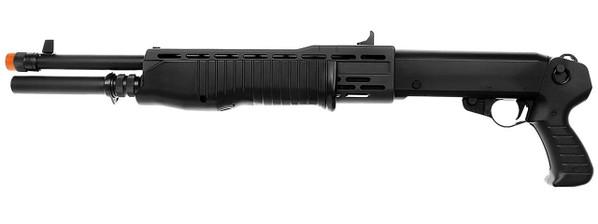 Tokyo Marui SPAS 12 Pump Action Airsoft Shotgun, Black