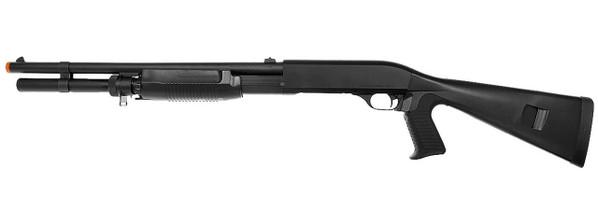 Tokyo Marui Super 90 Full Size Pump Action Airsoft Shotgun, Black
