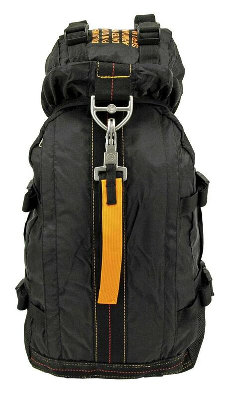 Flight Parachute Backpack, Black