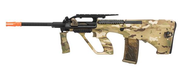 Army Armament Polymer AUG Civilian AEG Airsoft Rifle w/ Top Rail, Multicam