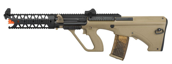 Army Armament Polymer AUG 9 Raptor AEG Airsoft Rifle, Tan