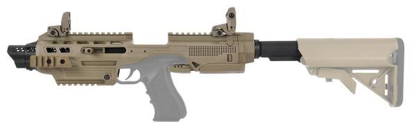 G-Series Airsoft Pistol Carbine Conversion Kit, Dark Earth