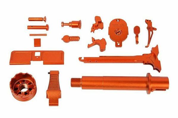 GandG ARP-9 Super Ranger Dress-Up Kit, Amber / Orange