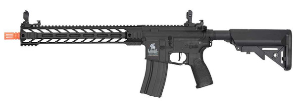 Lancer Tactical Enforcer Series Gen 2 BATTLE HAWK Hybrid 14 High FPS AEG Airsoft Rifle, Black
