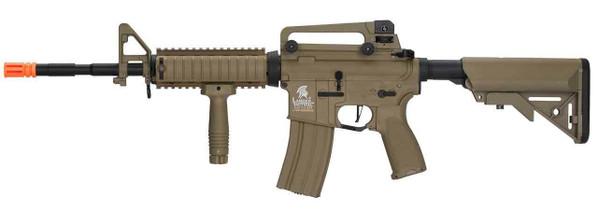 Lancer Tactical LT-04 M4 RIS Hybrid High FPS Airsoft Rifle, Tan