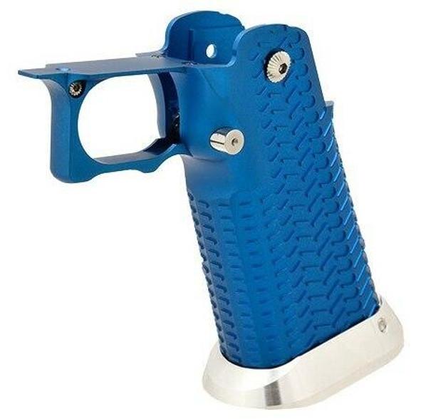 Airsoft Masterpiece Hi-Capa Type 11 Aluminum Grip, Blue