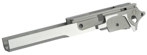 Airsoft Masterpiece Infinity Style Aluminum Advance Frame w/ Tactical Rail, Silver
