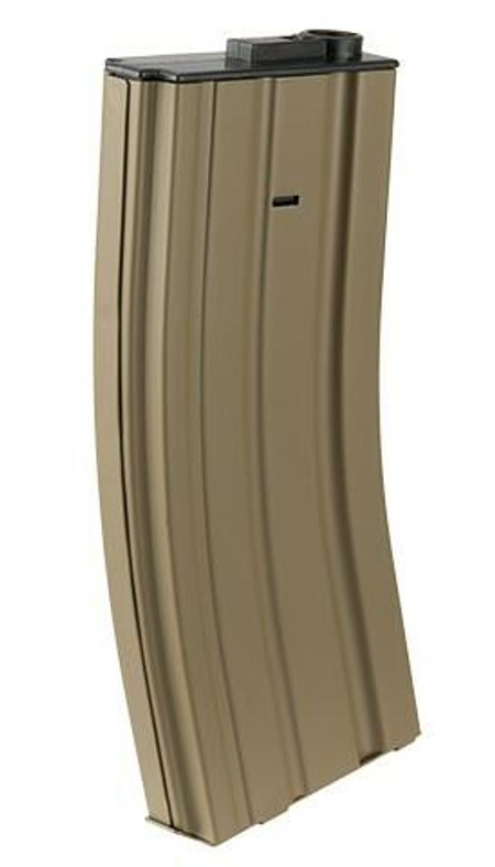 Lancer Tactical Gen 2 Metal 120rd Mid-Cap M4/M16 Magazine, Tan