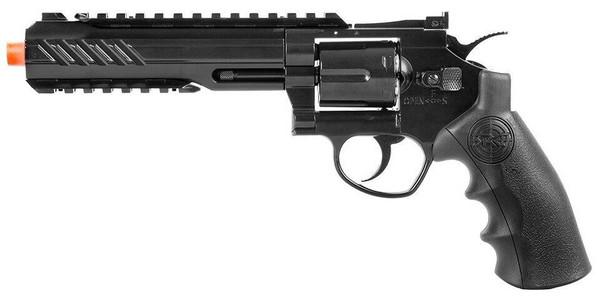SRC Titan 6 Full Metal Co2 Airsoft Revolver, Black