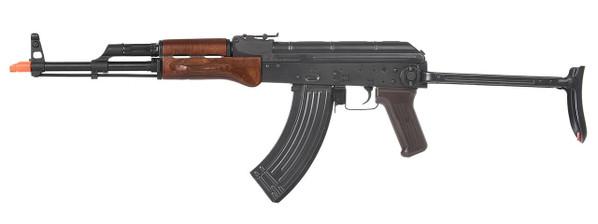 EandL Airsoft AK AIMS Platinum Airsoft Rifle w/ Real Wood Furniture, Black