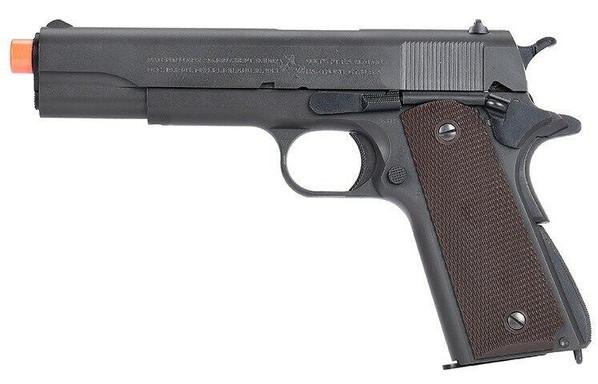 Tokyo Marui M1911A1 Government Gas Blowback Airsoft Pistol, Black