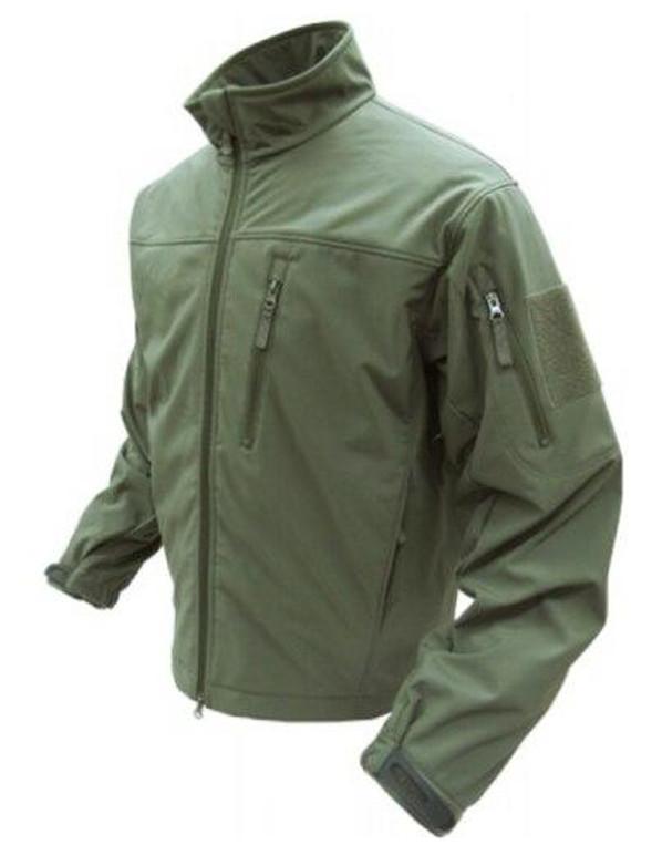 Condor Outdoor Tactical Phantom Soft Shell Jacket #606, OD Green