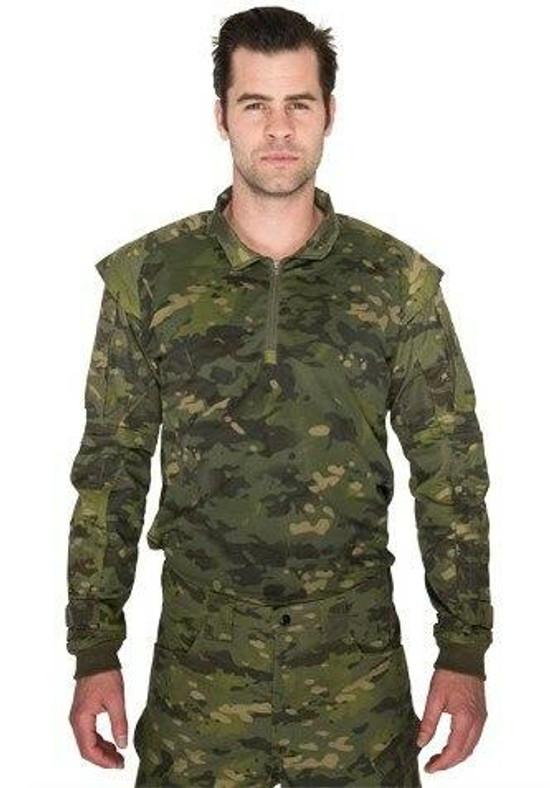 Lancer Tactical Shoulder Armor Jersey, Tropic Camo