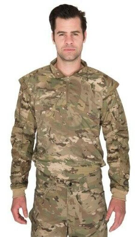 Lancer Tactical Shoulder Armor Jersey, Desert Camo