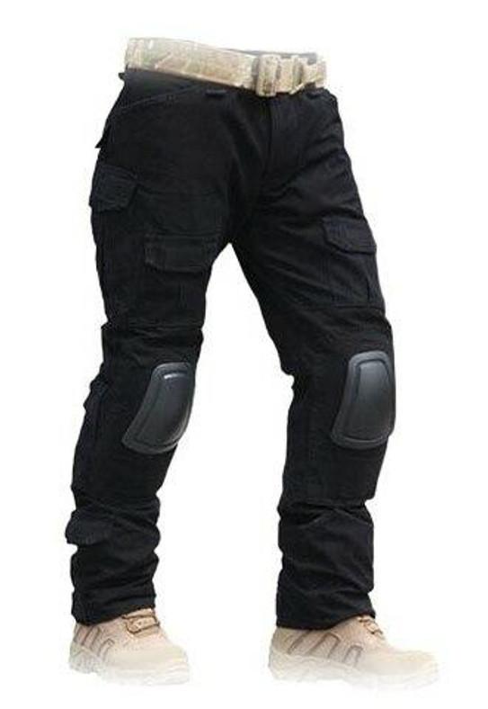 Lancer Tactical Combat Uniform BDU Pants, Black