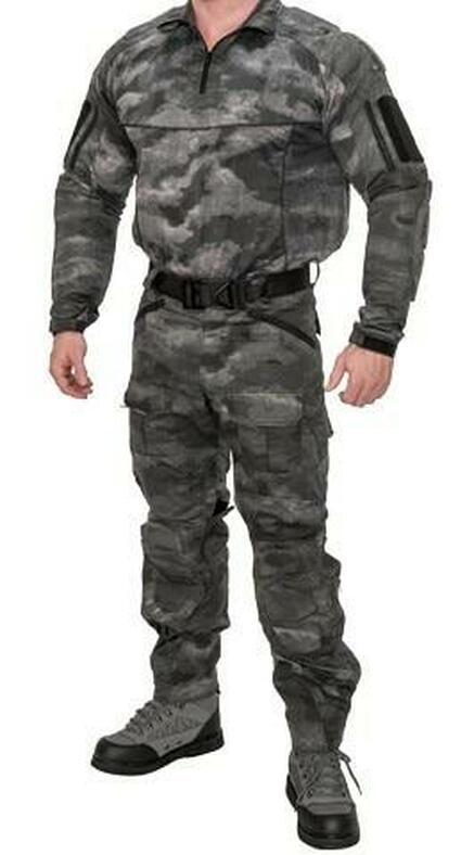 Lancer Tactical Rugged Combat Uniform Set w/ Soft Shell Padding, AT-SE