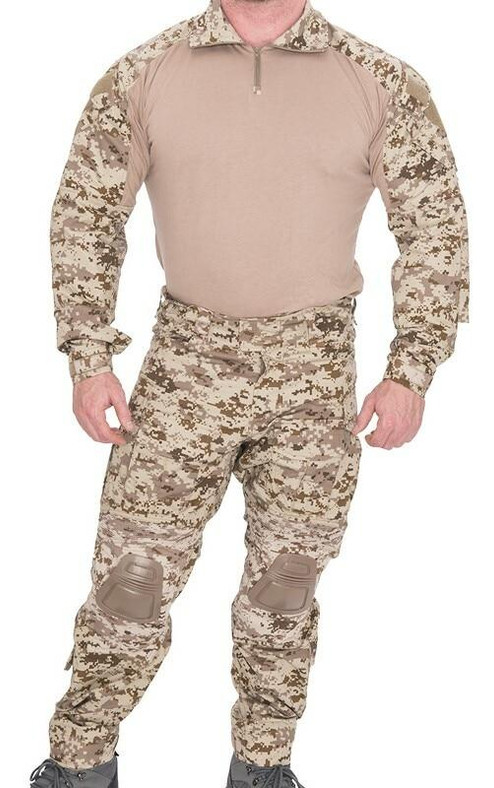 Lancer Tactical Combat Tactical Uniform Set, Desert Digital