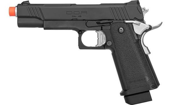 Tokyo Marui DOR Hi-Capa 5.1 Gas Blowback Airsoft Pistol, Black