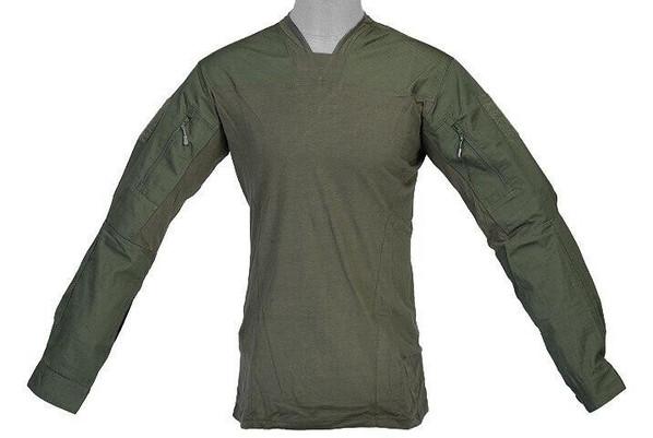 Lancer Tactical TLS Halfshell Shirt, OD Green