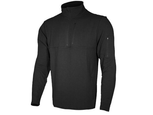 Cannae Tactical Rig Polyester Fleece Pullover, Black