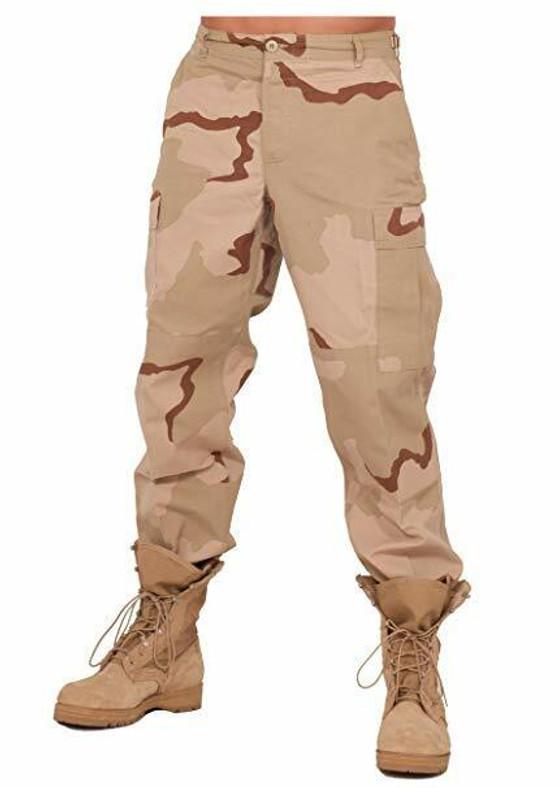 Rothco Ultra Force SWAT Cloth BDU Pants, Tri-Color Desert