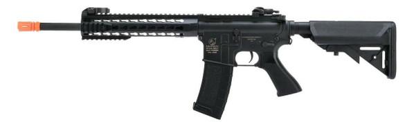 Colt Licensed M4A1 Sportline Carbine Airsoft Rifle w/ Keymod Handguard, Black