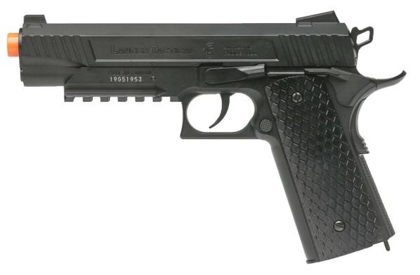 Lancer Tactical Cobra LTX-50 1911 Co2 Half-Blowback Airsoft Pistol, Black