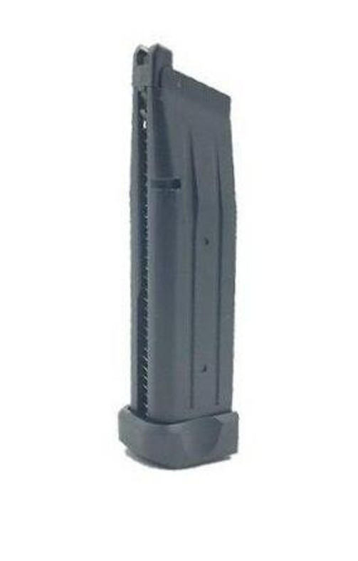 JAG Arms GMX Series 31rd Green Gas Magazine, Black