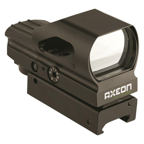 Axeon Optics 2-RS Multi-Reticle Hooded Reflex Sight