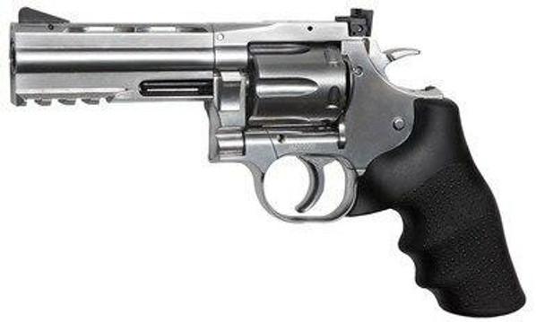 ASG Licensed Dan Wesson 715 4 .177 Airgun, Silver