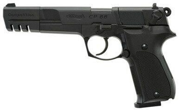 Walther CP88 Competition Co2 .177 Airgun, Black