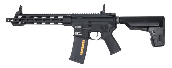 KWA Ronin T10 AEG 3.0 Electric Blowback Airsoft Rifle, Black
