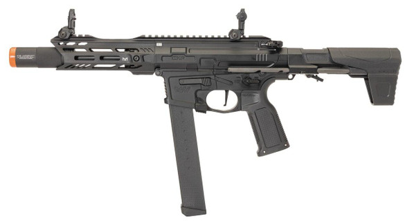 ICS ProLine CXP-MARS PDW9 AEG Airsoft Rifle, Black