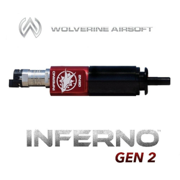 Wolverine INFERNO Gen 2 M249 Cylinder w/ Premium Edition Electronics HPA Kit
