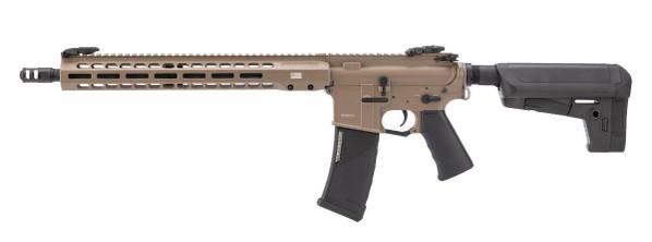 EMG KRYTAC Barrett Firearms REC7 DI AR-15 Airsoft Rifle, Dark Earth