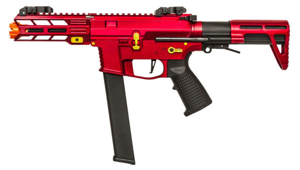 Classic Army Nemesis X9 PDW SMG AEG, Red