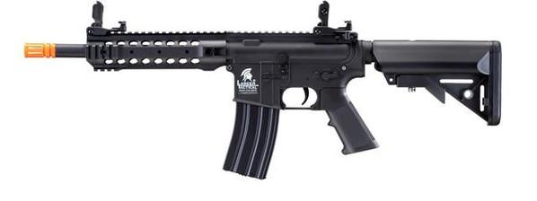 Lancer Tactical LT-24B Gen 2 CQB M4 AEG Airsoft Rifle, Black
