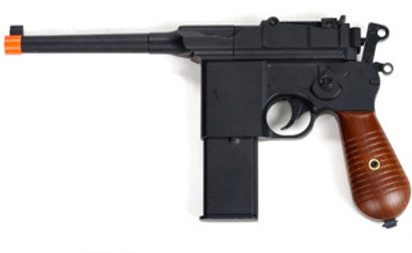Full Metal Mauser Style Spring Airsoft Pistol
