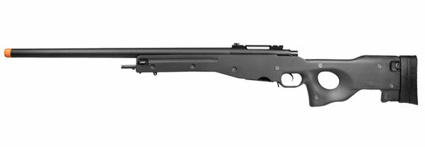 G&G Top Tech G960 Gas Airsoft Sniper Rifle, L96 Style, Black