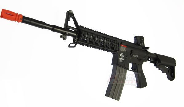 G&G CM16 Raider-L Black High Velocity Version Airsoft Rifle