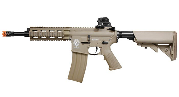 G&G GR16 CQW Rush Blowback Tan Airsoft Rifle