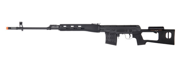 A&K SVD Dragunov Spring Airsoft Sniper Rifle, Black