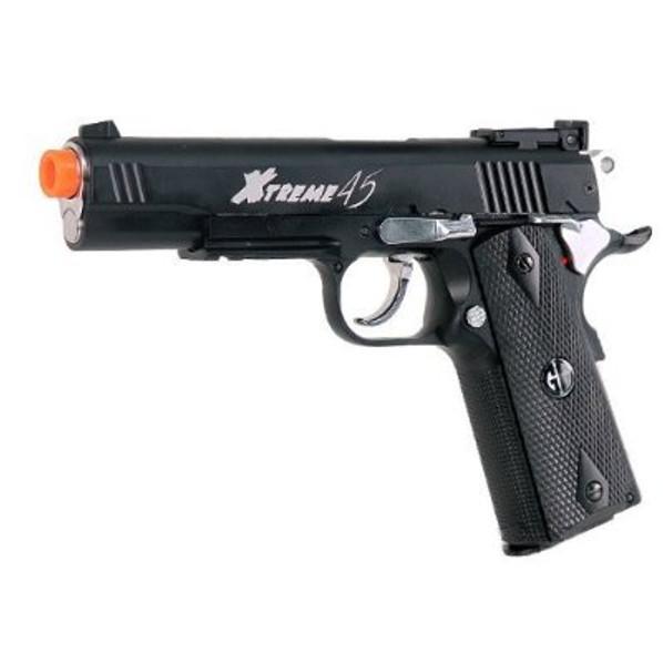 G&G Xtreme 45 CO2 Blowback Airsoft Pistol, Black