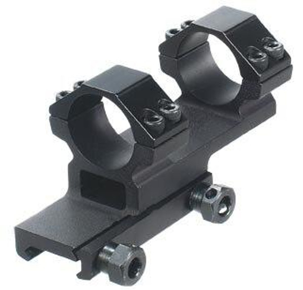 Leapers Accushot 1-Pc Offset Mount w/1 Rings, Weaver/Picatinny Mount