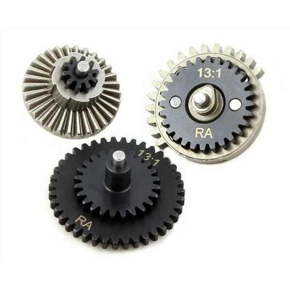 Raptors Airsoft 131 Gears CNC Machined High Speed Airsoft AEG Gear Set